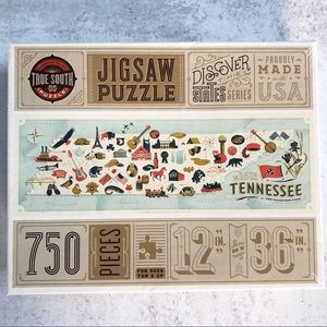 True South Puzzle Co. Tennessee Jigsaw Puzzle.